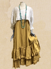Yellow Casual Plain Cotton-Blend Sleeveless Dresses