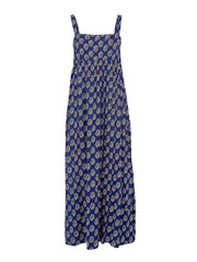 Square Neck Blue Women Dresses Dresses