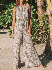 Flower Women Boho Jumpsuits