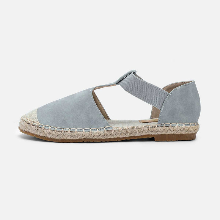 Summer Comfy Espadrilles Sandals Pu Slip On Sandals