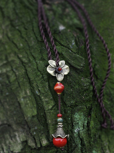 Red Drop Necklaces