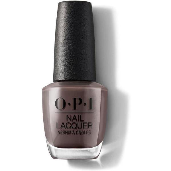 vernis OPI-That's what friends or Thor! Couleur taupe, terre, brun neutre.