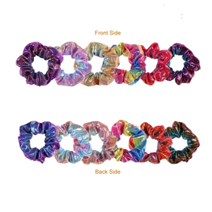 Duo de Scrunchies multicolore