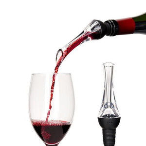 Acrylic Aerating Pourer Decanter Wine Aerator Spout