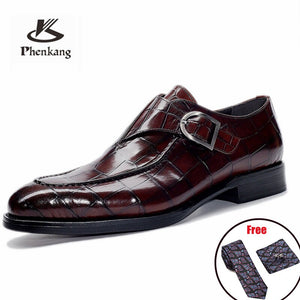Mens Bullock Genuine Leather Oxford Formal Shoes