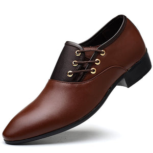 Men's Oxford  Luxury Leather Formal Dress Shoes