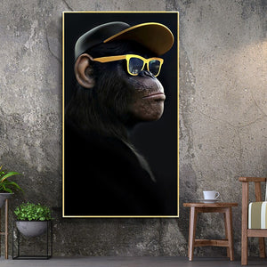 Music Monkey Large Posters
