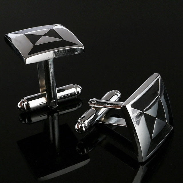 Amazing Simple Style Rectangle Cufflinks