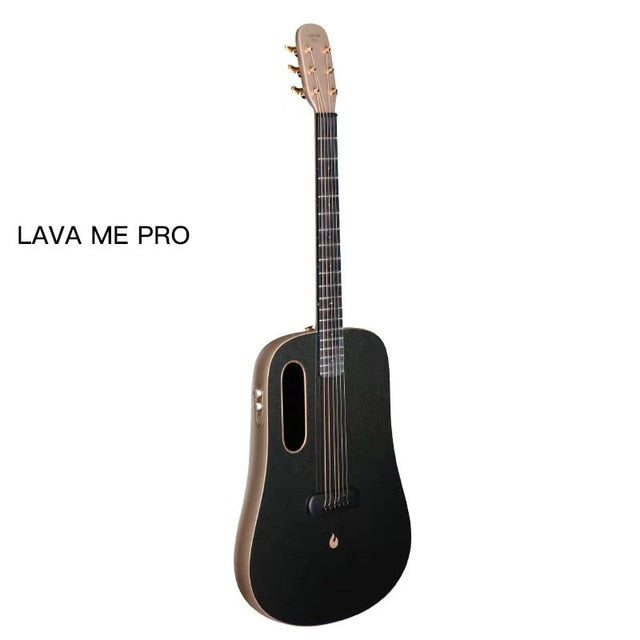 LAVA ME PRO 41 inch FreeBoost Guitar Carbon Fiber With Effects Without Plugging In Acoustic Electric Guitar With Bag