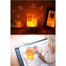 Load image into Gallery viewer, USB Crystal Light Natural Himalayan Led Lamp