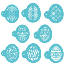 Load image into Gallery viewer, Easter Eggs Shape Faberge Pattern Cookie Stencil