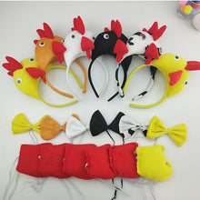 Load image into Gallery viewer, Chicken Chick Headband