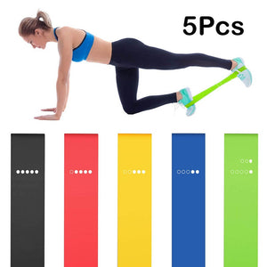 5PCS Yoga Resistance Band
