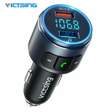 Load image into Gallery viewer, V5.0 Bluetooth FM Transmitter Radio Adapter