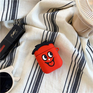 3D Cute Cartoon Earphone Covers