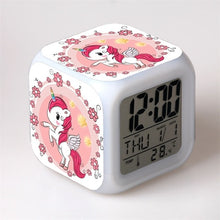 Load image into Gallery viewer, LED Unicorn Alarm Clock