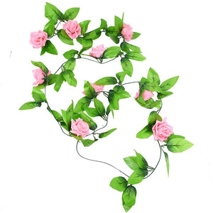 10-40cm Artificial Metal Easter Flower Wreath