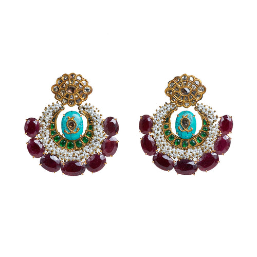 Ruby Rube Earrings - GOLDKARAT