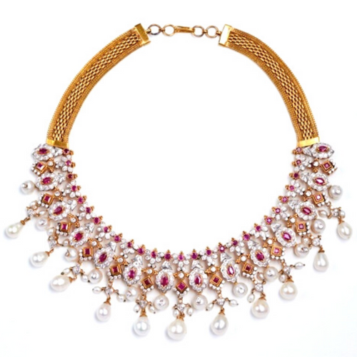 The Ruby Rube Necklace - GOLDKARAT