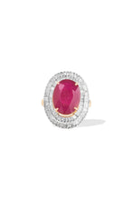 Load image into Gallery viewer, Aleah's Ruby Ring - GOLDKARAT