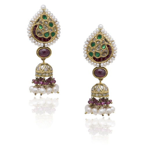 Genelia Earrings - GOLDKARAT