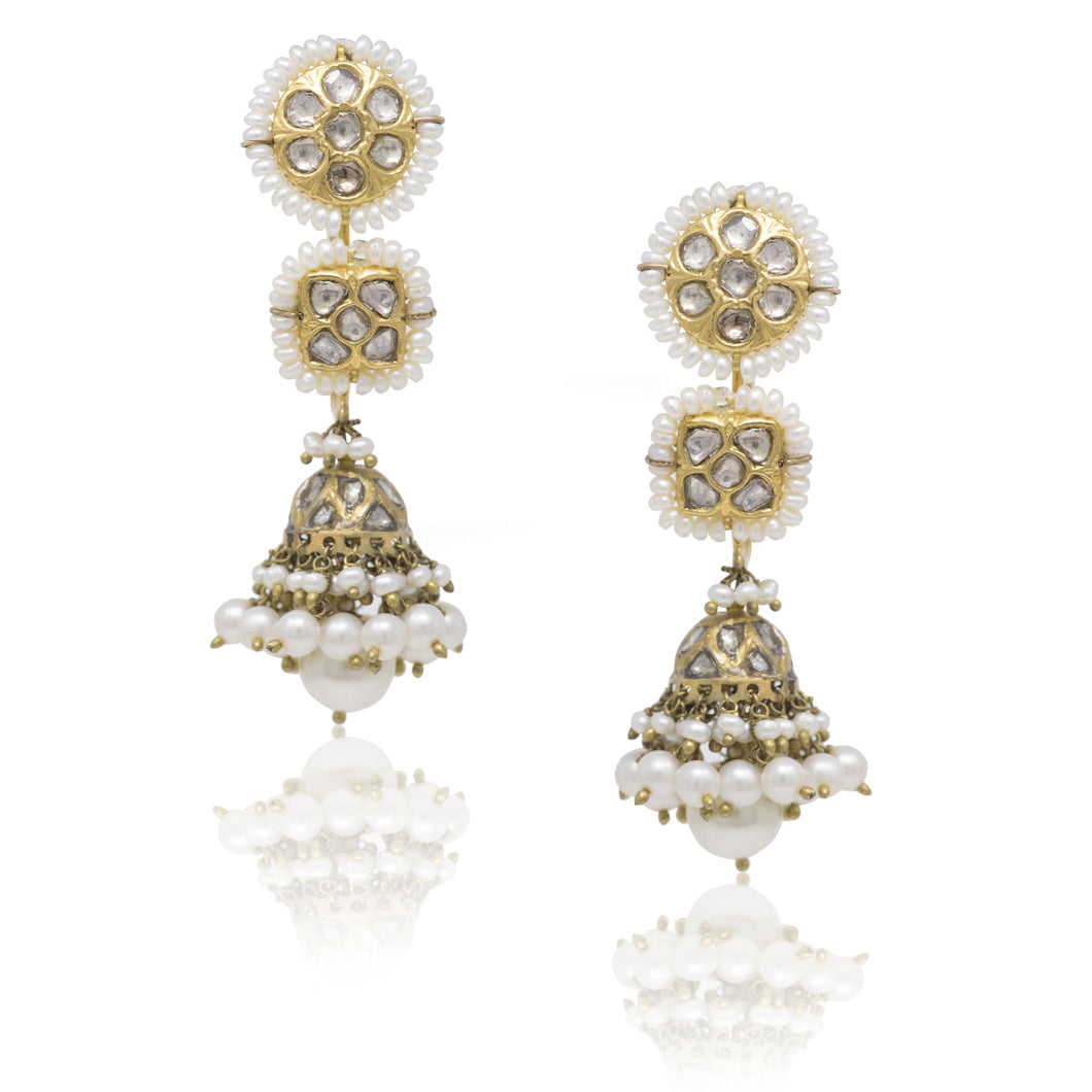 Anchal Earrings - GOLDKARAT