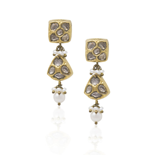 Kareena Earrings - GOLDKARAT
