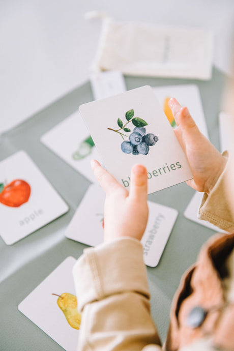 fruits vegetables learning magnets learning cards for kids aimants d'apprentissage cartes d'apprentissage fruits et légumes