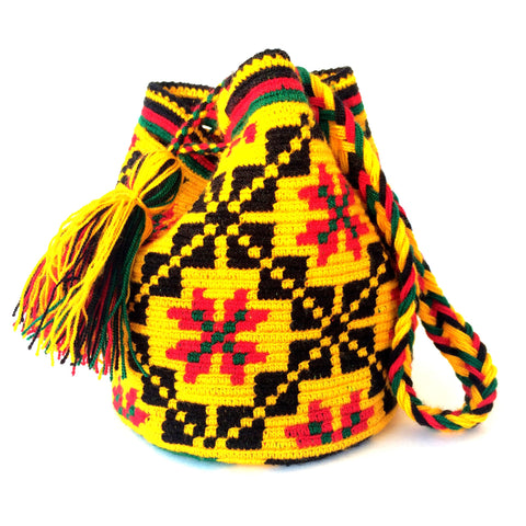 Wayuu Bag Mini - cubist gem