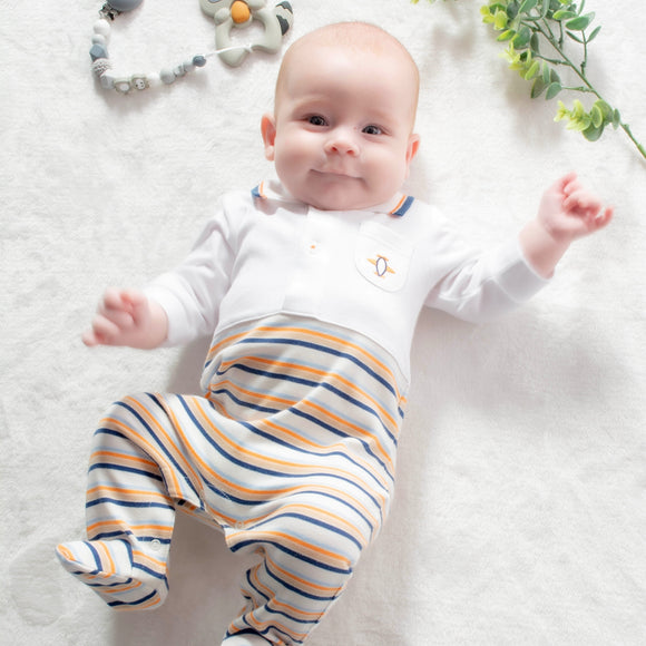 baby-boy-bodysuit-aeroplane-theme-outfit-embroidered-motif-1-to-3-months-100-pima-cotton-baby-shower-gifts
