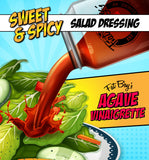 Agave Vinaigrette - Sweet & Spicy Salad Dressing