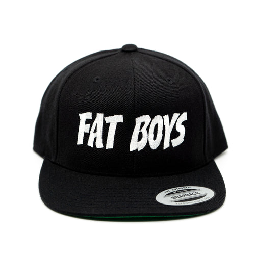 Fat Boys Burrito Snapback Hat - Black