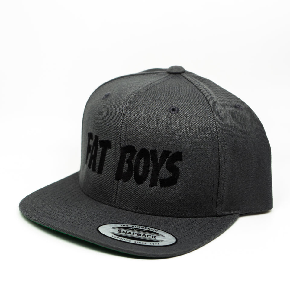 Fat Boys Snapback - Gray