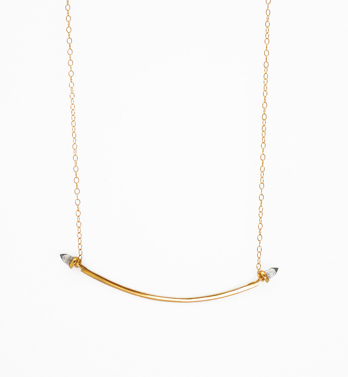 Bullet Collar Necklace