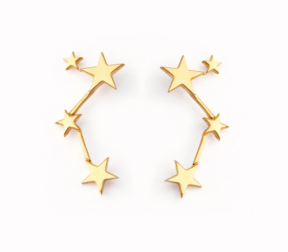 Large Star Constellation Earring