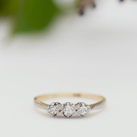 The Vintage Bijou Diamond Ring