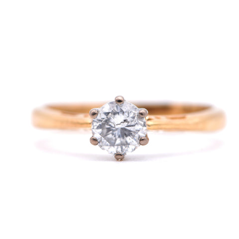 The Exemplar Diamond Engagement Ring - Antique Jewellers Ltd
