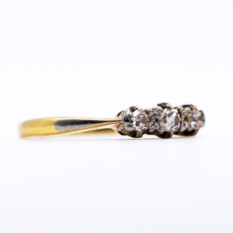 The Vintage Bijou Diamond Ring - Antique Jewellers Ltd