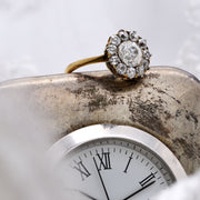 The Victorian Antique XII Diamond Engagement Ring - Antique Jewellers