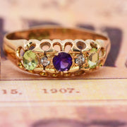 The Antique Edwardian 1907 Suffragette Ring - Antique Jewellers Ltd