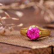 The Vintage 22ct Gold and Ruby Ring - Antique Jewellers
