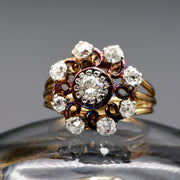 The Antique Spiral Galaxy Diamond Ring - Antique Jewellers Ltd
