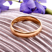 The Art Deco 1922 22 Carat Gold Wedding Band - Antique Jewellers Ltd