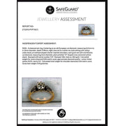 The Vintage Bold Shouldered Diamond Ring - Antique Jewellers