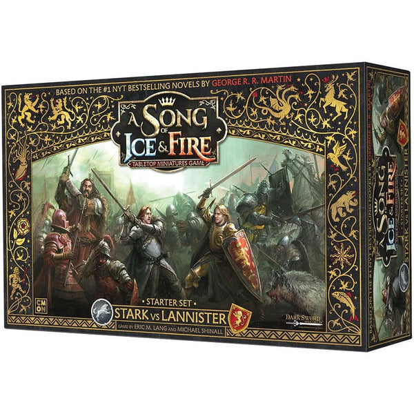 Stark vs Lannister Starter Set: A Song of Ice & Fire: Tabletop Miniatures Game: