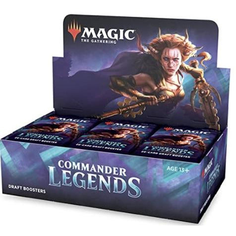Commander Legends Draft Booster Display (24) (pre-order)