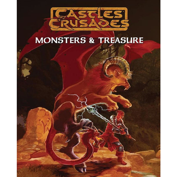 Castles and Crusades RPG: Monsters & Treasures Complete