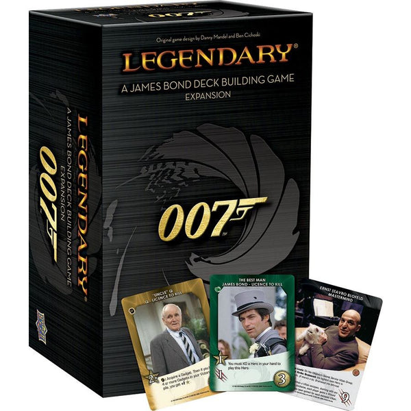 Legendary DBG: 007 - A James Bond Deck Building Game Expansion