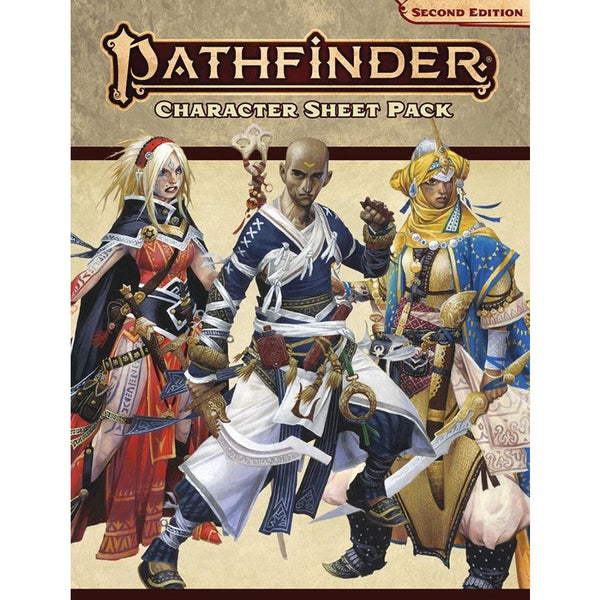 Pathfinder RPG: Character Sheet Pack (P2)