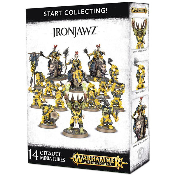 Start Collecting: IronJawz